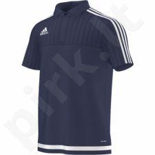 Marškinėliai futbolui polo Adidas Tiro 15 M S22434