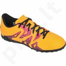 Futbolo bateliai Adidas  X 15.4 TF Jr S74611