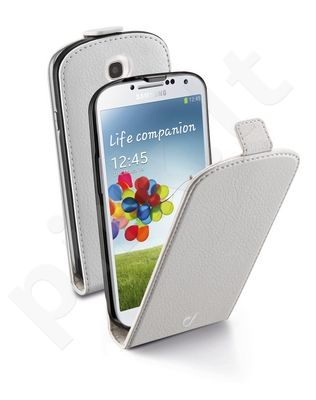 Samsung Galaxy S4 dėklas FLAP ESSEN Cellular baltas