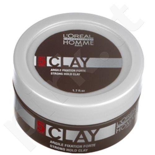 L´Oreal Paris Homme Clay Fixation, 50ml, kosmetika vyrams