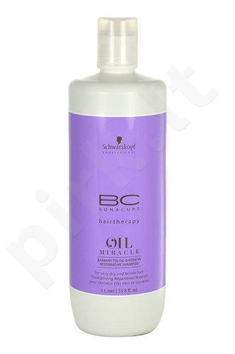 Schwarzkopf BC Bonacure Oil Miracle Barbary Fig Oil & Keratin,plaukų šampūnas, kosmetika moterims, 1000ml