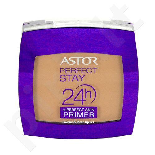 Astor 24h Perfect Stay Make Up 1 kompaktinė veido pudra, kosmetika moterims, 7g, (200 Nude)
