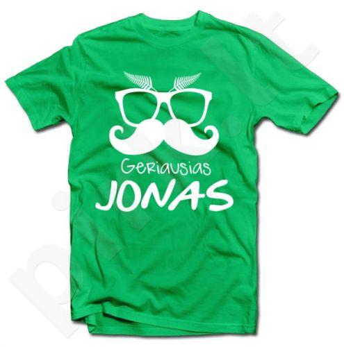 """Marškinėliai """"Geriausias JONAS"""""""