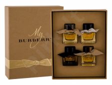 Burberry Collection, My Burberry, rinkinys kvapusis vanduo moterims, (EDP My Burberry 2x 5 ml + EDT My Burberry 5 ml + Parfum My Burberry Black 5 ml)