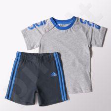 Vaikiškas komplektas Adidas Linear Summer Set Kids S17151