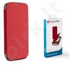 Samsung Galaxy S4 dėklas FLIP BOOK Cellular raudonas
