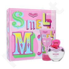 Moschino Pink Bouquet rinkinys moterims, (EDT 30ml + 50ml kūno losjonas)