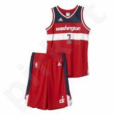 Komplektas krepšininkui Adidas Washington Wizards John Wall Junior AP6656
