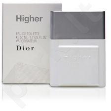 Christian Dior Higher, tualetinis vanduo (EDT) vyrams, 50 ml