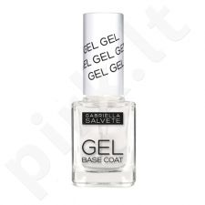 Gabriella Salvete Nail Care, Gel Base Coat, nagų lakas moterims, 11ml, (16)