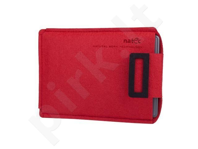 Natec KINDLEY case NATEC SHEEP 6' Red-Black