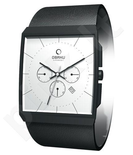 Moteriškas laikrodis OBAKU OB V126GBIRB