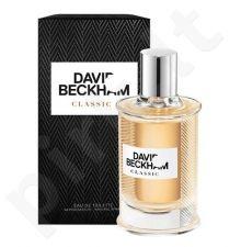 David Beckham Classic, tualetinis vanduo (EDT) vyrams, 40 ml