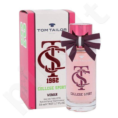 Tom Tailor College Sport, EDT moterims, 50ml