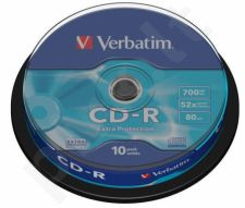 CD-R Verbatim [ cake box 10 | 700MB | 52x | DataLife ]