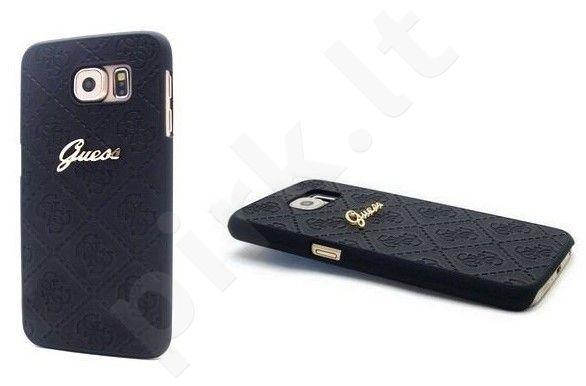 Samsung Galaxy S6 dėklas Guess CS6CBK juodas