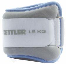 Svoriai kojoms 2x1,5kg l.blue/grey
