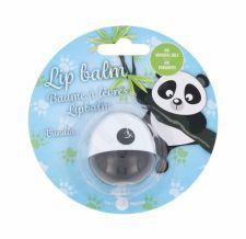 2K Animal Lip Balm, Panda, lupų balzamas moterims, 11g, (Vanilla)