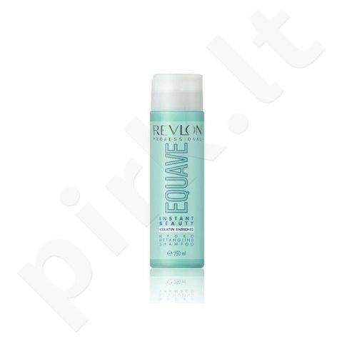Drėkinamasis šampūnas plaukams su keratinu Revlon Equave Hydro šampūnas, 250ml