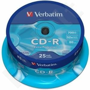 CD-R Verbatim [ cake box 25 | 700MB | 52x | DataLife ]