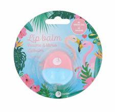2K Animal Lip Balm, Flamingo, lupų balzamas moterims, 11g, (Cherry)