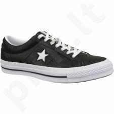 Sportiniai bateliai  Converse One Star Ox 163385C juoda
