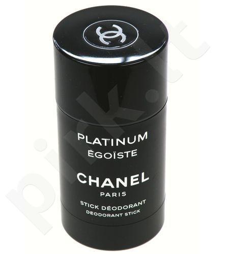 Chanel Platinum Egoiste Pour Homme, dezodorantas vyrams, 75ml