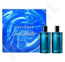 Davidoff (EDT 75 ml + 75 ml After shave) Cool Water, rinkinys vyrams