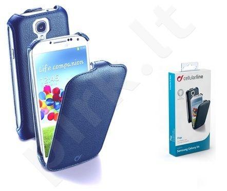 Samsung Galaxy S4 dėklas FLAP Cellular mėlynas