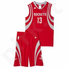 Komplektas krepšininkui Adidas Houston Rockets James Harden Junior AY1560