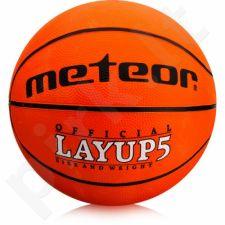 Krepšinio kamuolys Meteor Layup 5 07053