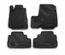 Guminiai kilimėliai 3D HONDA CR-V 2007-2012, 4 pcs. /L28019
