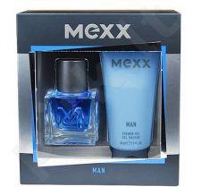 Mexx Man, rinkinys tualetinis vanduo vyrams, (EDT 30ml + 50ml dušo želė)