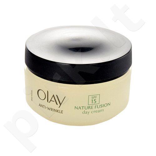 Olay Anti-Wrinkle Nature Fusion dieninis kremas SPF15, kosmetika moterims, 50ml