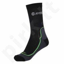 Kojinės Hi-Tec Gimbo juoda-zielone
