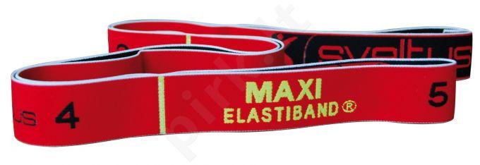 Juosta mankštai ELASTIBAND MAXI 10kg raudona