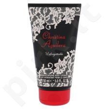 Christina Aguilera Unforgettable, kūno losjonas moterims, 150ml