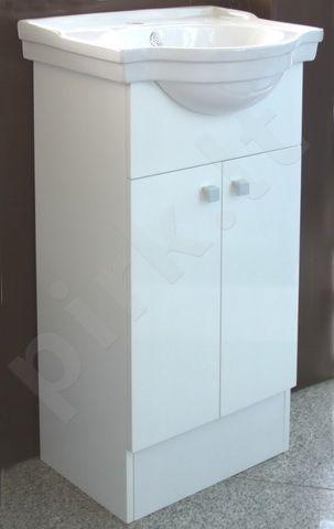 Vonios kambario spintelė su praustuvu  SV60