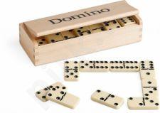 Stalo žaidimas Domino Juego, medinė dėžutė
