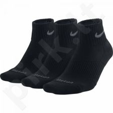 Kojinės Nike Cushion Dri-fit Quarter 3 poros SX4835-001