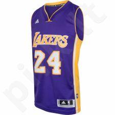 Marškinėliai krepšiniui Adidas Swingman Los Angeles Lakers Kobe Bryant M A45975