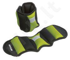 Svoriai rankoms ir kojoms 2x0,75kg green/black