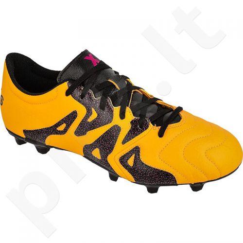 Futbolo bateliai Adidas  X 15.3 FG/AG M Leather S74640
