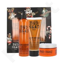 Tigi Bed Head Colour Goddess, rinkinys šampūnas moterims, (400ml Bed Head Colour Goddess šampūnas + 200ml Bed Head Colour Goddess kondicionierius + 200g Bed Head Colour Goddess Miracle Treatment Mask)