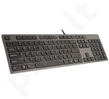 Klaviatūra A4Tech KV-300H Grey USB