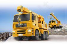 Radio bangomis valdomas Heavy duty crane MAN  2,4 GHz
