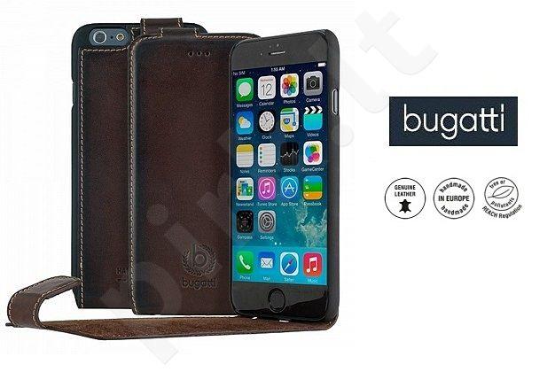 Apple iPhone 6/6S atverčiamas dėklas AMSTERD Bugatti v.rudas