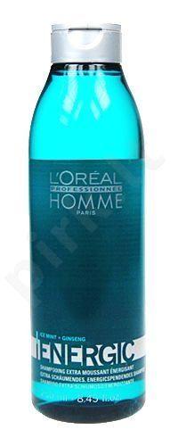 L`Oreal Paris Homme Energic Šampūnas, 250ml vyrams