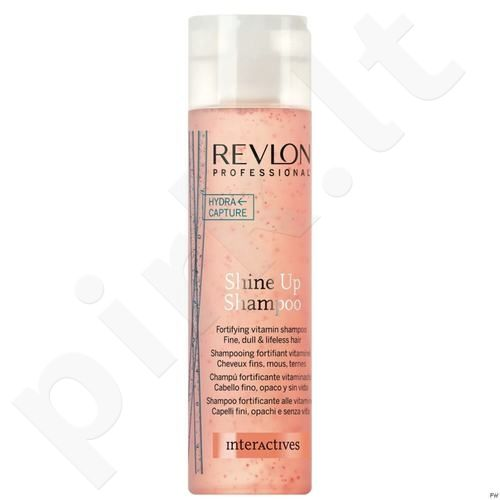 Revlon Interactives Shine Up šampūnas, 250ml, kosmetika moterims