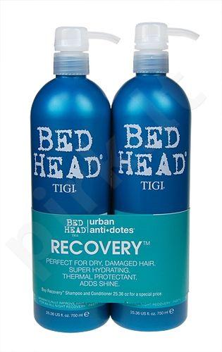 Tigi Bed Head Recovery šampūnas rinkinys moterims, (750ml Bed Head Recovery šampūnas + 750ml Bed Head Recovery kondicionierius)